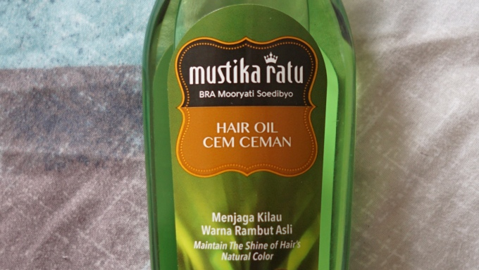 Review Mustika Ratu Hair Oil Cem Ceman